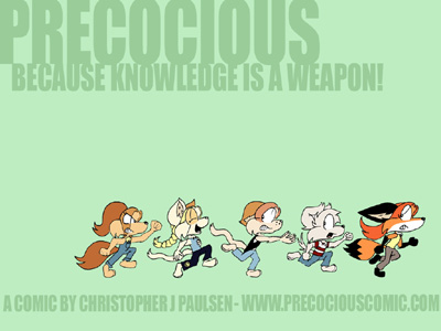 Precocious wallpaper 1