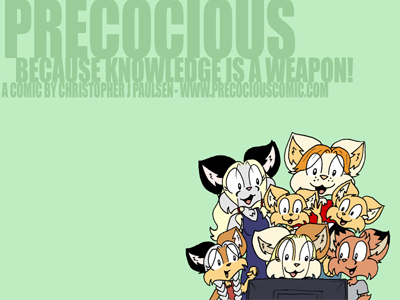 Precocious wallpaper 2