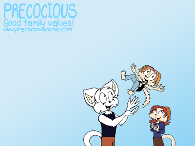 Precocious wallpaper 3